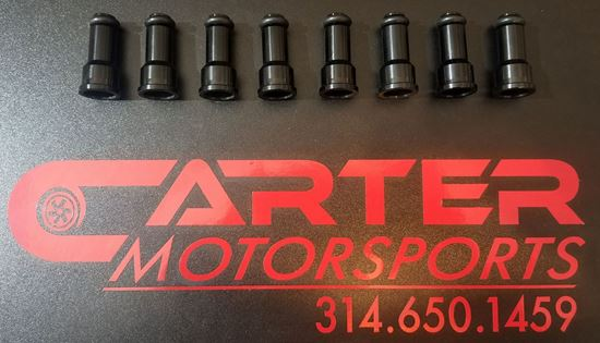 Picture of Set of 8 Tall Billet Injector Top Hats